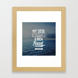 My Soul Framed Art Print