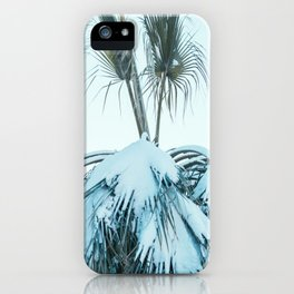 Palm and Snow iPhone Case