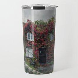 Autumn Cottage Travel Mug