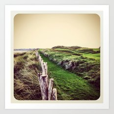 Fence - Instagram Art Print