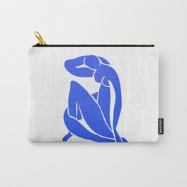 BLUE MATISSE CUT OUT Carry-All Pouch