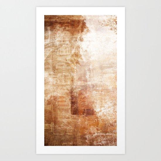 Mémoire rouillée Art Print