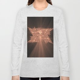 Folding Leaf On The Tree of Knowledge Long Sleeve T-shirt