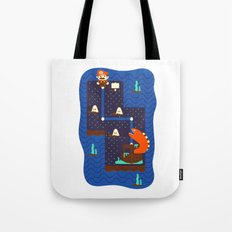 Overworld: Deep Tote Bag