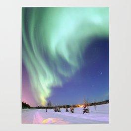 Northern Lights of Alaska Photograph Poster