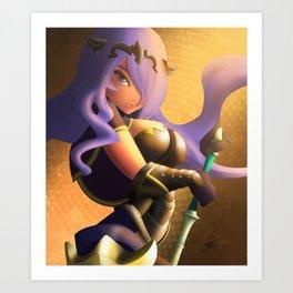 Camilla - Good As Gold - Fire Emblem Fates Art Print