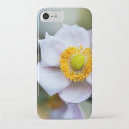 Japanese Windflower iPhone Case