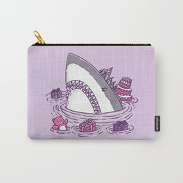 Birthday Princess Shark Carry-All Pouch
