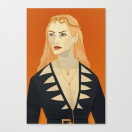 A Woman's Magic Canvas Print