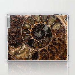 Earth treasures - Fossil in brown tones Laptop & iPad Skin