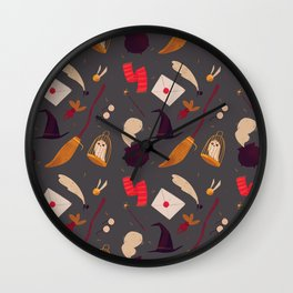Magic Pattern Wall Clock