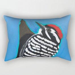 Ladder-Backed Woodpecker Rectangular Pillow