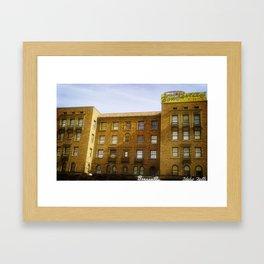Idaho Falls Historic Building - Bonneville Hotel Framed Art Print
