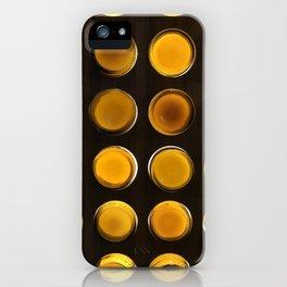 Golden Bottles iPhone Case
