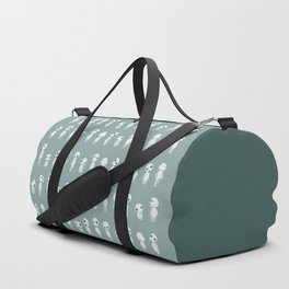 Ghibli Spirits - Kodama Mononoke pattern Duffle Bag