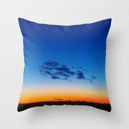 Morning Fire Throw Pillow