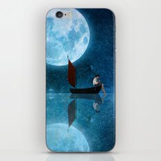 The Moon and Me iPhone & iPod Skin