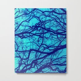 Entwined Branches Metal Print