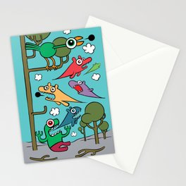 Wood of Chaos Stationery Cards