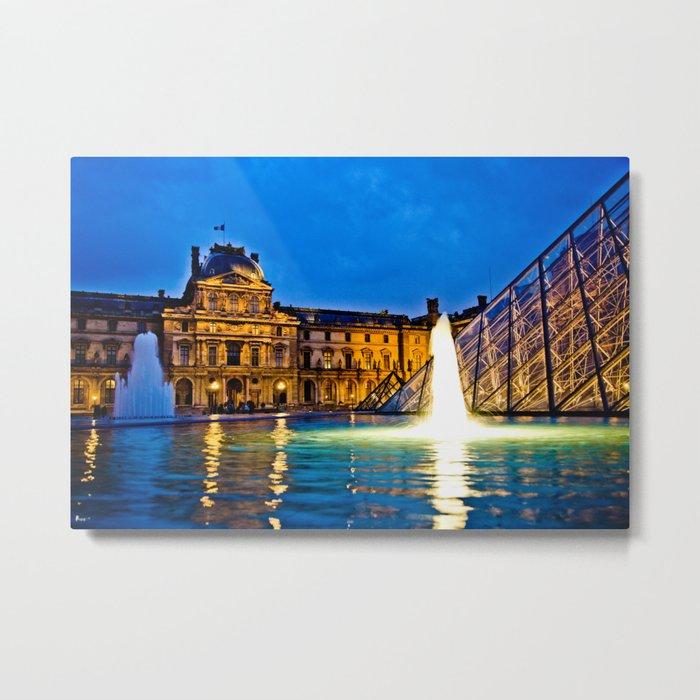 Palais du Louvre II Metal Print