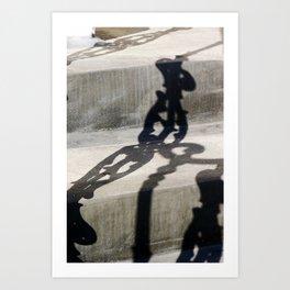 Shadow in Hackney4 Art Print