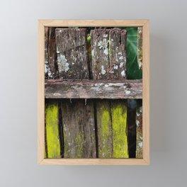 old door Framed Mini Art Print