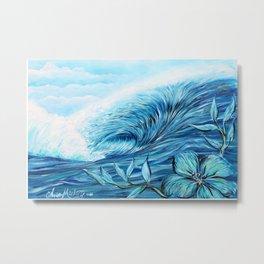 Blue Paradise Metal Print