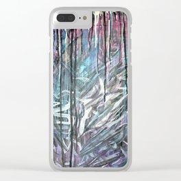 Nos Astra Graffiti Clear iPhone Case