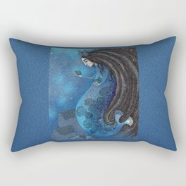 The Seal Woman Rectangular Pillow