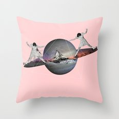 MAGIC ROLLER  Throw Pillow