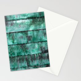 Glazed water flow Stationery Cards