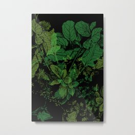 midnight plants Metal Print