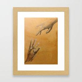 In spirit Framed Art Print