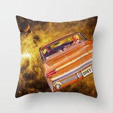 DMT Trip Throw Pillow