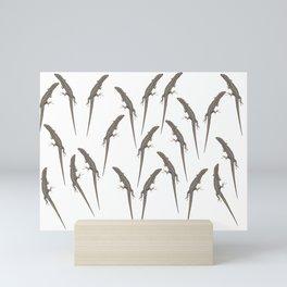 Lizards Mini Art Print
