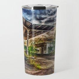 Abandoned Garage Travel Mug