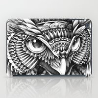 ornate iPad Cases featuring Ornate Owl Head by BIOWORKZ