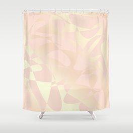 Elegant gold pattern Shower Curtain