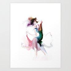 fashion tv Art Print