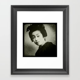 Little China Girl 2 Framed Art Print