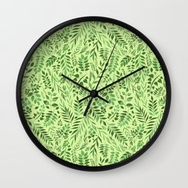 Lemongrass (Essential Oil Collection) Wall Clock