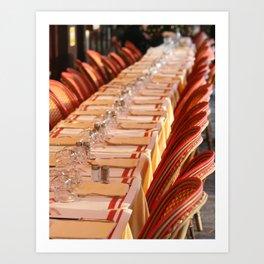 Brasserie Art Print