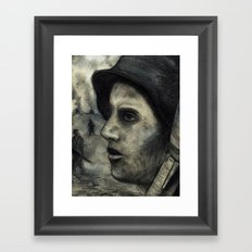 Soldat Framed Art Print