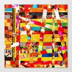 Jiseo (stripes 12) Canvas Print