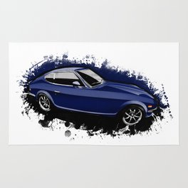 Devil Z (Wangan Midnight anime) Rug