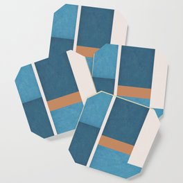 Intercepts, Geometric Forms Shapes Coaster