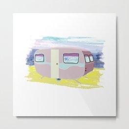 Caravan  Metal Print