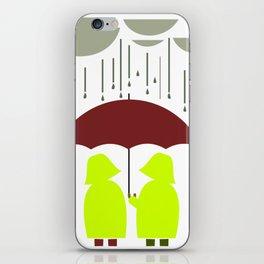 Share my Umbrella iPhone Skin