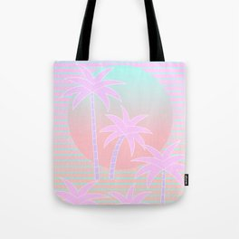 Hello Miami Sunrise Tote Bag