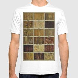 Wood Grain Chart T-shirt